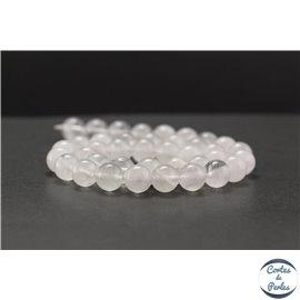 Perles en cristal de roche - Rondes/10mm - Grade AB