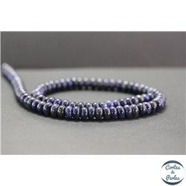 Perles en dumortiérite - Roues/8mm - Grade A