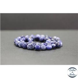 Perles en dumortiérite - Nuggets/5-10mm - Grade AB