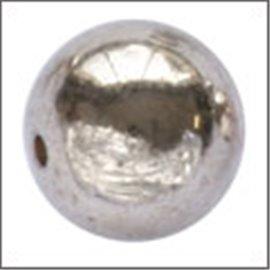 Apprêts Boules de Métal - Ronde/10 mm - Argenté