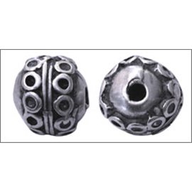Apprêts Boules de Métal qualité premium - 12 mm - Argenté