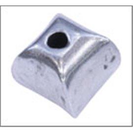 Apprêts Boules de Métal qualité premium - 7 mm - Argenté
