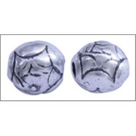 Apprêts Boules de Métal qualité premium - 9 mm - Argenté