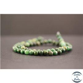 Perles en jade west Africa - Rondes/6mm