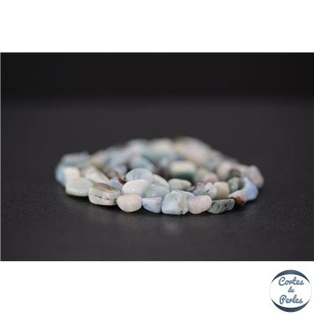 Perles en larimar de République Dominicaine - Nuggets/7mm - Grade B