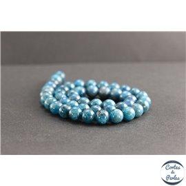 Perles en apatite de Madagascar - Rondes/8mm - Grade A