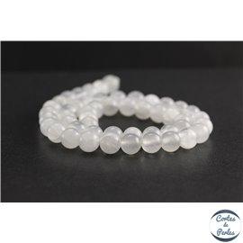 Perles en aragonite d'Afrique - Rondes/8mm - Grade A