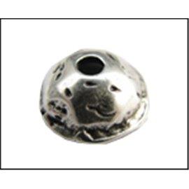 Apprêts Coupelles qualité premium - 13,5 mm - Argenté