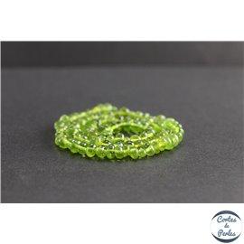 Perles en ambre vert de la République Dominicaine - Nuggets/5mm - Grade AB