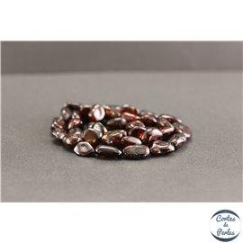 Perles en ambre cerise de la Baltique - Nuggets/10mm - Grade AB