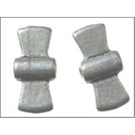 Apprêts intercalaires - 19 mm - Argenté