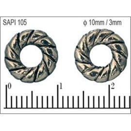 Apprêts Intercalaires qualité premium - 10 mm - Argenté