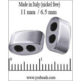 Apprêts Intercalaires qualité premium - 11 mm - Argenté