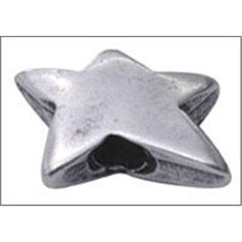 Apprêts Intercalaires qualité premium - Étoile/20 mm - Argenté