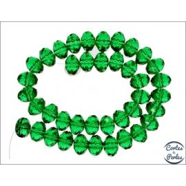 Perles en Cristal de Bohème - Roue/14 mm - Erinite