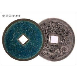 Apprêts donuts - 50 mm - Bleu