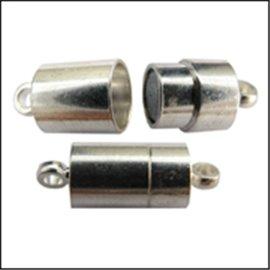 Fermoirs magnétiques - 19 mm - Argenté