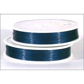 Bobine de fil cablé - 0,45 mm - Bleu