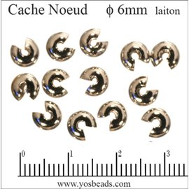 Cache noeud - 6 mm