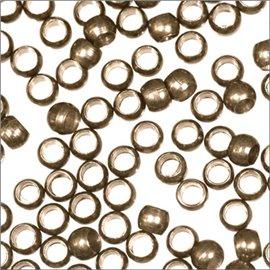Perles à écraser - 2,2 mm - Bronze