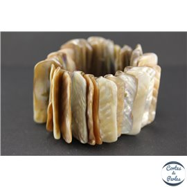 Bracelets en Coquillages - Beige