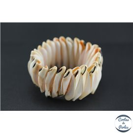 Bracelets en Coquillages - Blanc