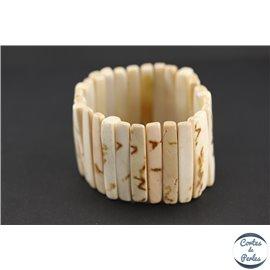 Bracelets en Coquillages - Ivoire