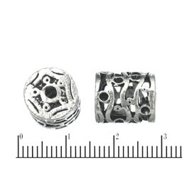 Apprêts American Finding Intercalaires Vernis - 10 mm - Argenté