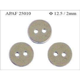 Apprêts American Finding Intercalaires Vernis - 12,5 mm - Argenté