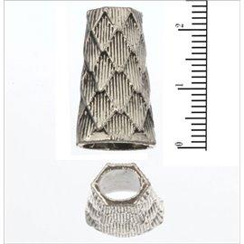 Apprêts american finding intercalaires vernis - 22,5 mm - Argenté