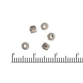 Apprêts american finding intercalaires vernis - 3,5 mm - Argenté