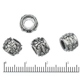 Apprêts american finding intercalaires vernis - 9 mm - Argenté