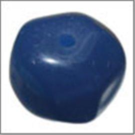 Perles en résine naturelle - Pépites/12 mm - Bleu