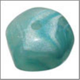 Perles en Résine Naturelle - Pépite/12 mm - Bleu