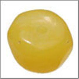 Perles en Résine Naturelle - Pépite/12 mm - Jaune