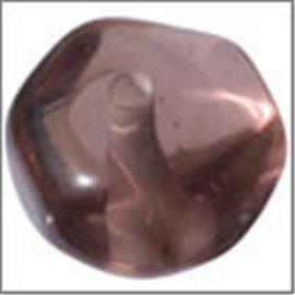 Perles en Résine Naturelle - Pépite/12 mm - Marron