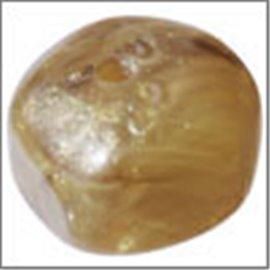 Perles en Résine Naturelle - Pépite/12 mm - Or