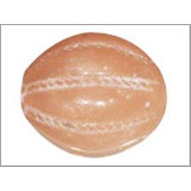 Perles en Résine Naturelle - Ovale/14 mm - Orange