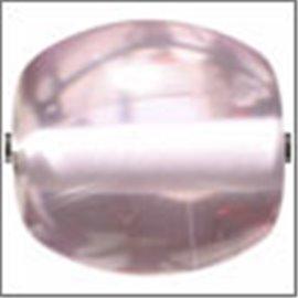 Perles en Résine Naturelle - Ovale/14 mm - Violet