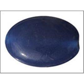 Perles en Résine Naturelle - Ovale/24 mm - Bleu