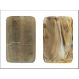 Perles en Résine Naturelle - Dragée/20 mm - Marron