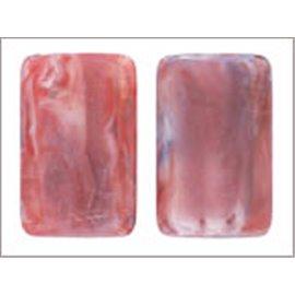 Perles en Résine Naturelle - Dragée/20 mm - Rouge