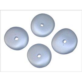 Perles en Résine Synthétique - Roue/15 mm - Bleu