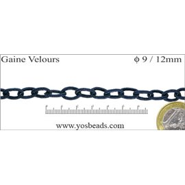 Chaînes - 9 mm - Bleu