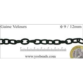 Chaînes - 9 mm - Noir