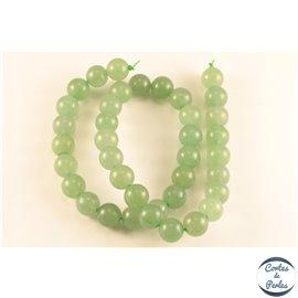 Perles en aventurine verte - Rondes/10mm