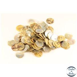Perles en Nacre - Disques/15mm