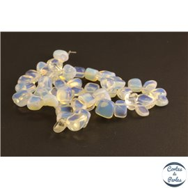 Perles semi précieuses en opaline - Nuggets/10 mm