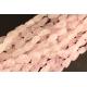 Perles semi précieuses en cristal crack - Nuggets/18 mm - Rose