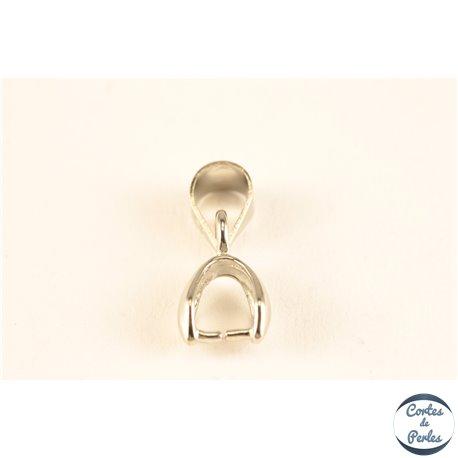 Bélière pour pendentif - 11 mm - Argenté